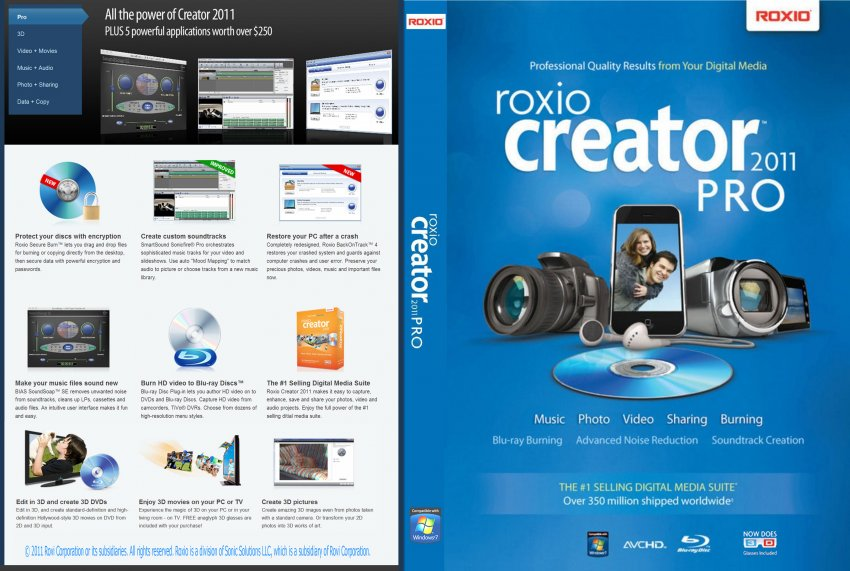 The most complete multimedia creativity suite