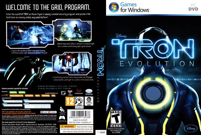 Tron Evolution скачать торрент Pc - фото 4