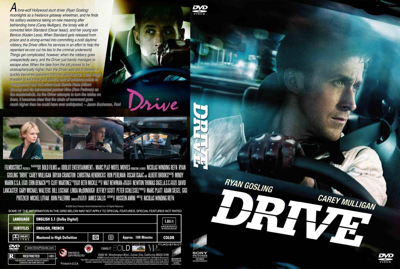 drive movie dvd custom covers drive 2011 custom