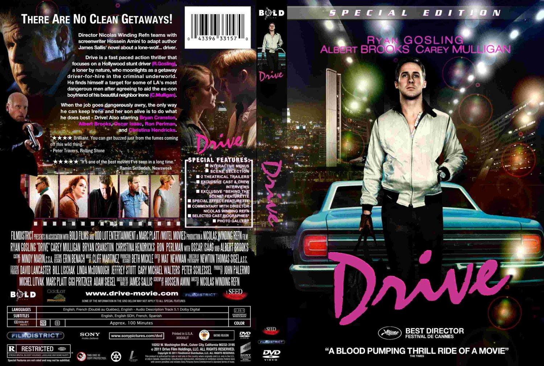 drive movie dvd custom covers drive 2011 custom1