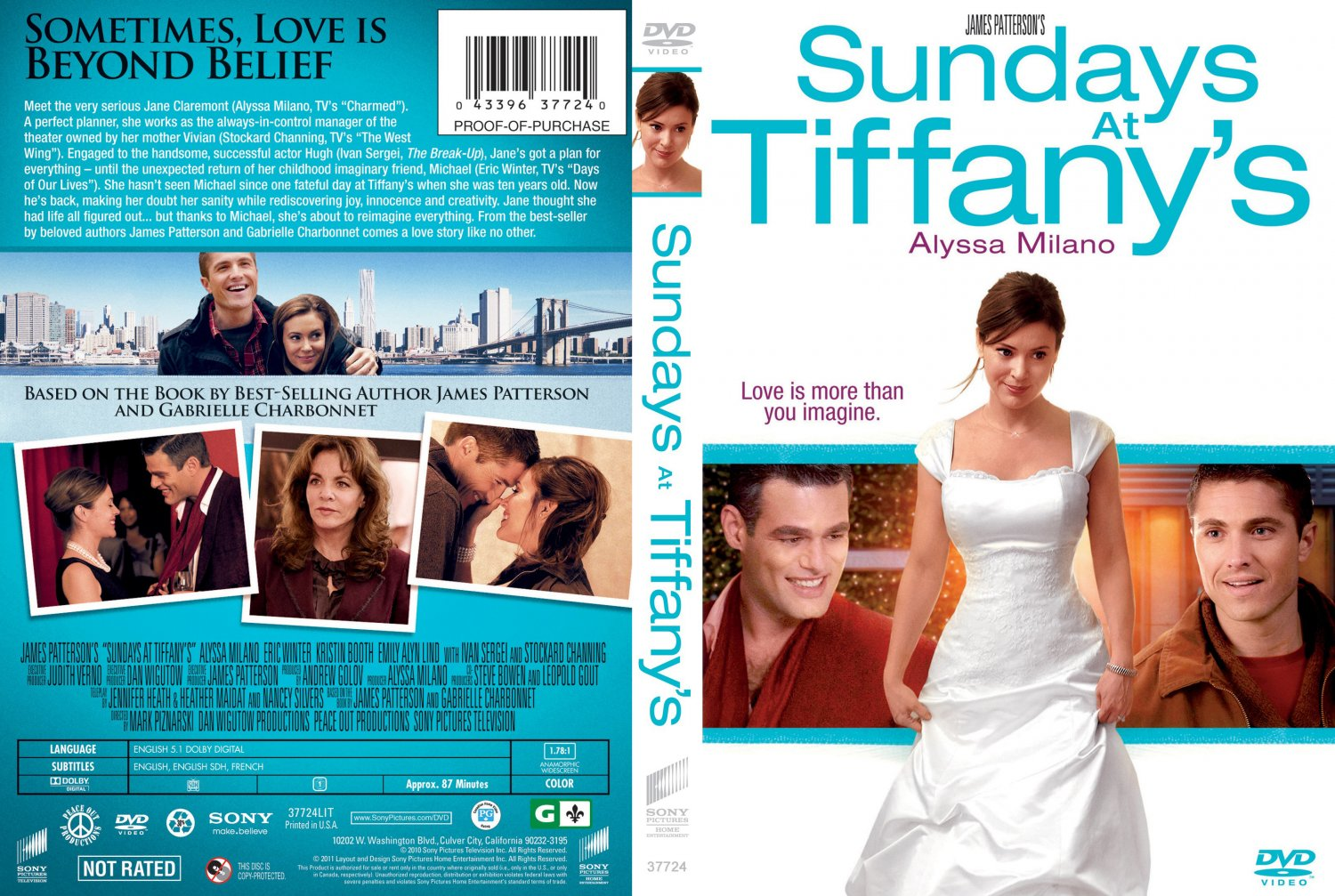 Sundays at Tiffany s - Movie DVD Scanned Covers - Sundays ...