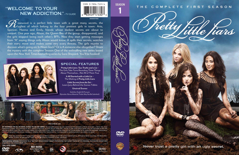 Pretty Little Liars First Book Cover ~ Pretty little liars season r tv dvd scanned covers