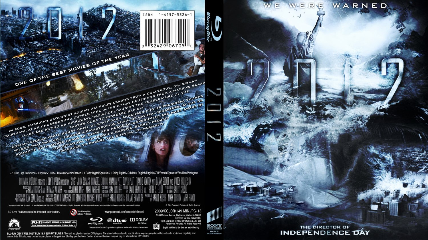 2012 blu ray cover movie blu ray custom covers 2012. Black Bedroom Furniture Sets. Home Design Ideas