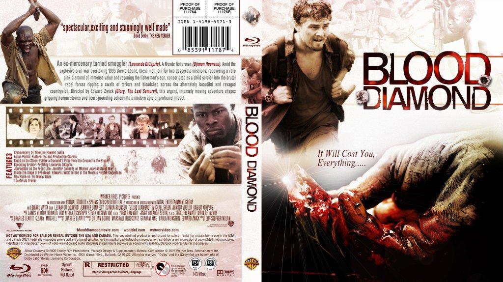 essay on blood diamond movie