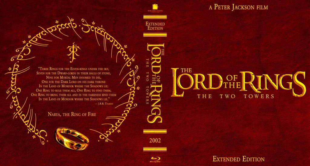 The Lord Of The Rings - The Two Towers - Movie Blu-Ray ...