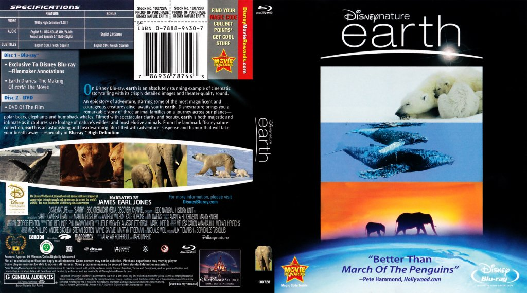 Earth movie locations