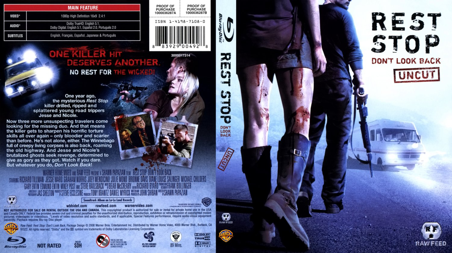 Rest Stop 2 - English - Bluray f - Movie Blu-Ray Scanned