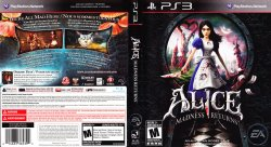 Alice Madness Returns DVD English French NTSC f