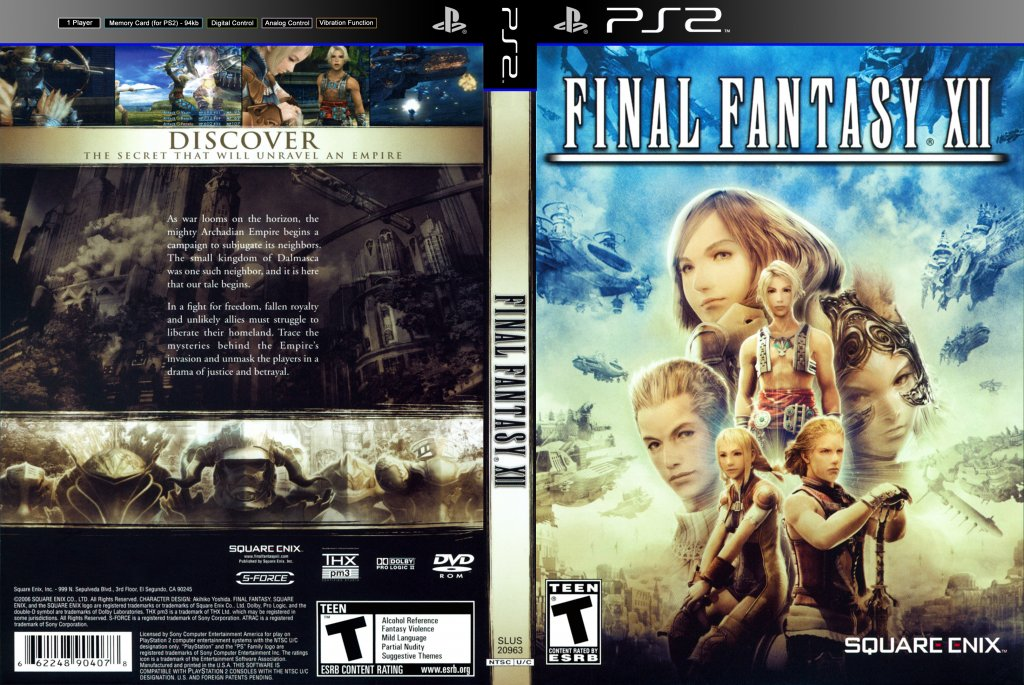 Final Fantasy XII original front