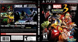 Marvel vs Capcom 3 Fate of Two Worlds DVD NTSC Custom f1