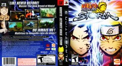 Naruto Ultimate Ninja Storm DVD English French NTSC f
