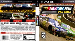 NASCAR The Game 2011 DVD NTSC Custom f