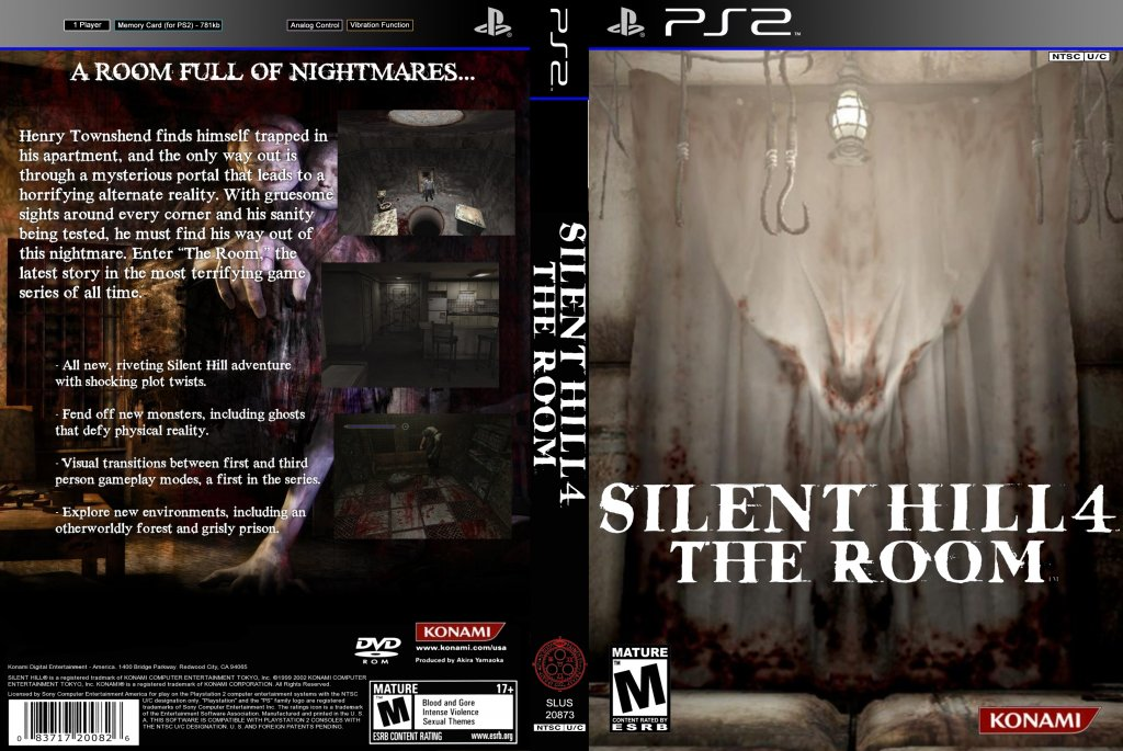 Silent Hill 4 Custom Playstation Game Covers Silent Hill 4