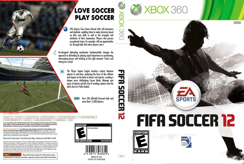 Fifa 12 Dvd Ntsc Custom F Date 10 03 2011 Size 1024x687