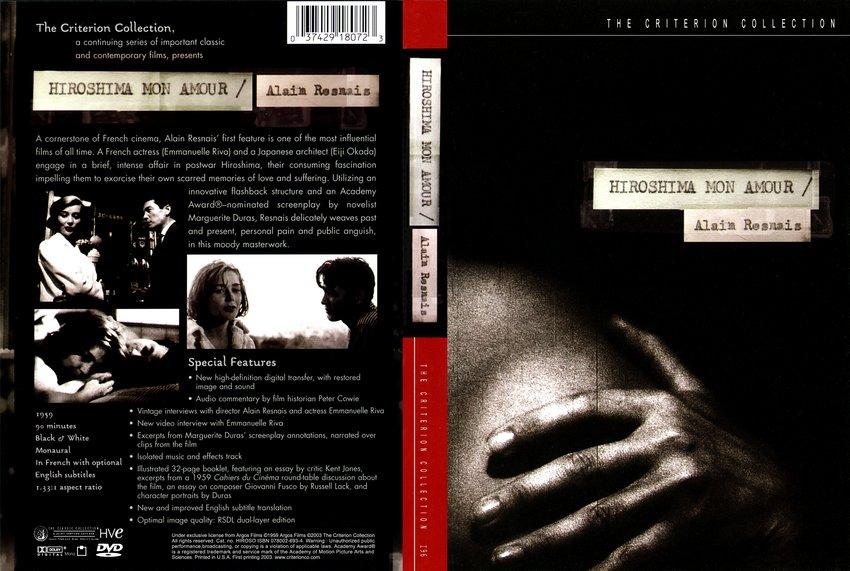 Hiroshima Mon Amour - Movie DVD Custom Covers ...