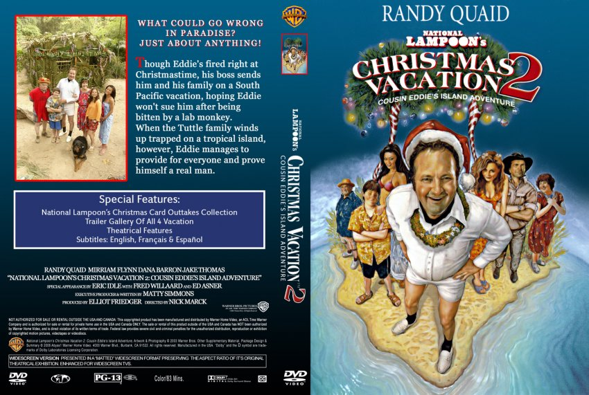 national lampoons christmas vacation 2 cousin eddies island adventure - National Lampoons Christmas Vacation Dvd