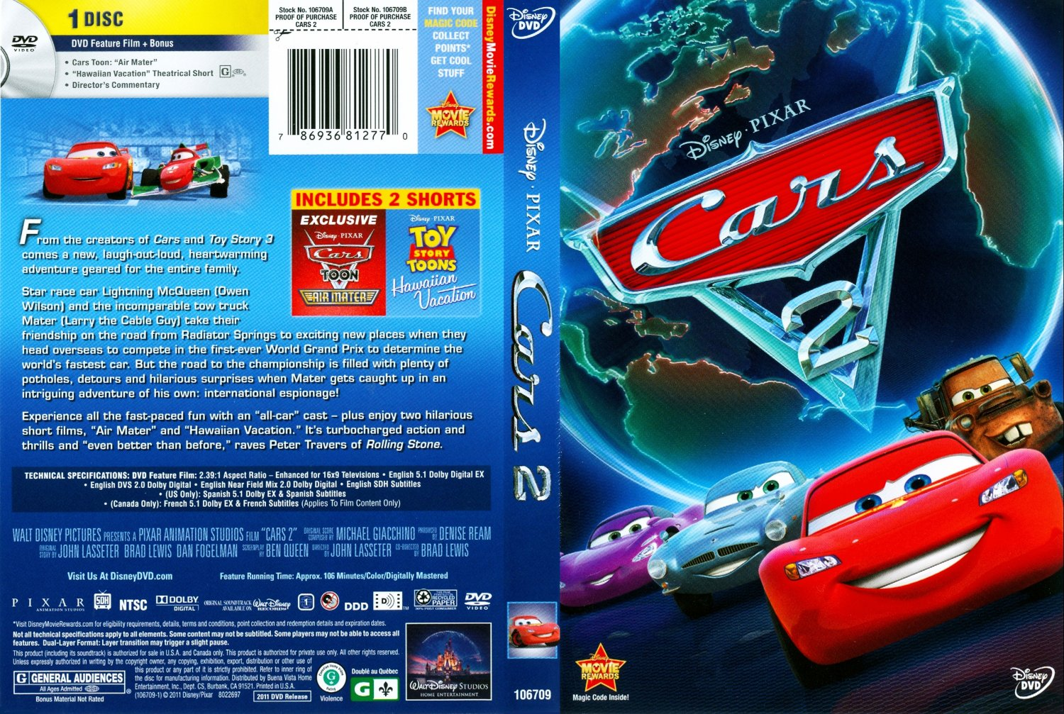 cars 2 movie dvd scanned covers cars 2 dvd covers