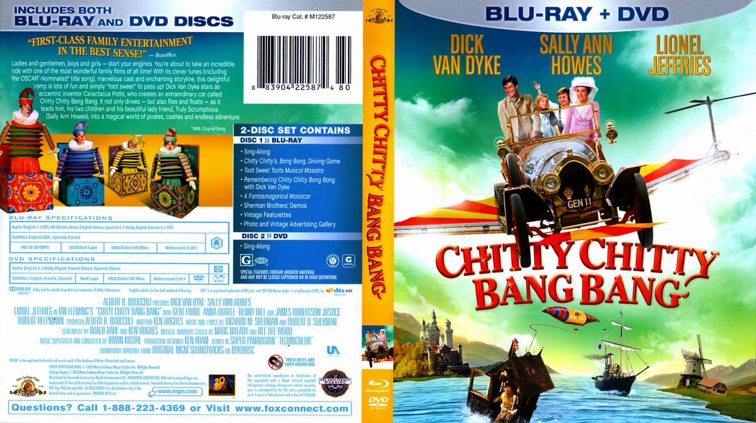 Chitty Chitty Bang Bang Soundtrack Chitty Chitty Bang Bang Dvd