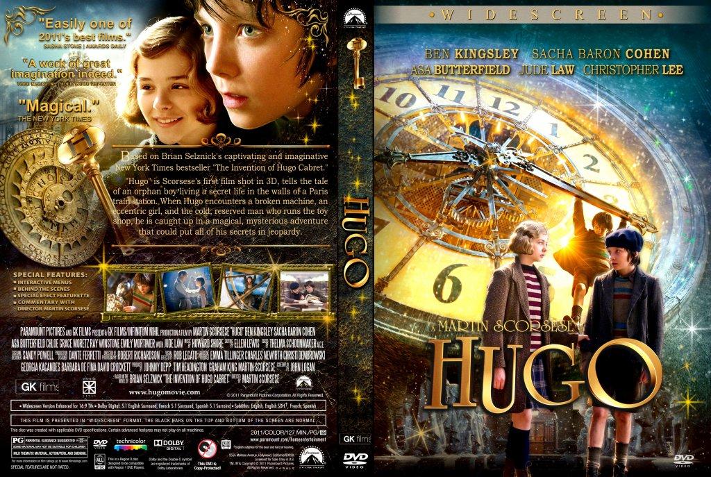 Hugo - Movie DVD Custom Covers - Hugo - Custom :: DVD Covers