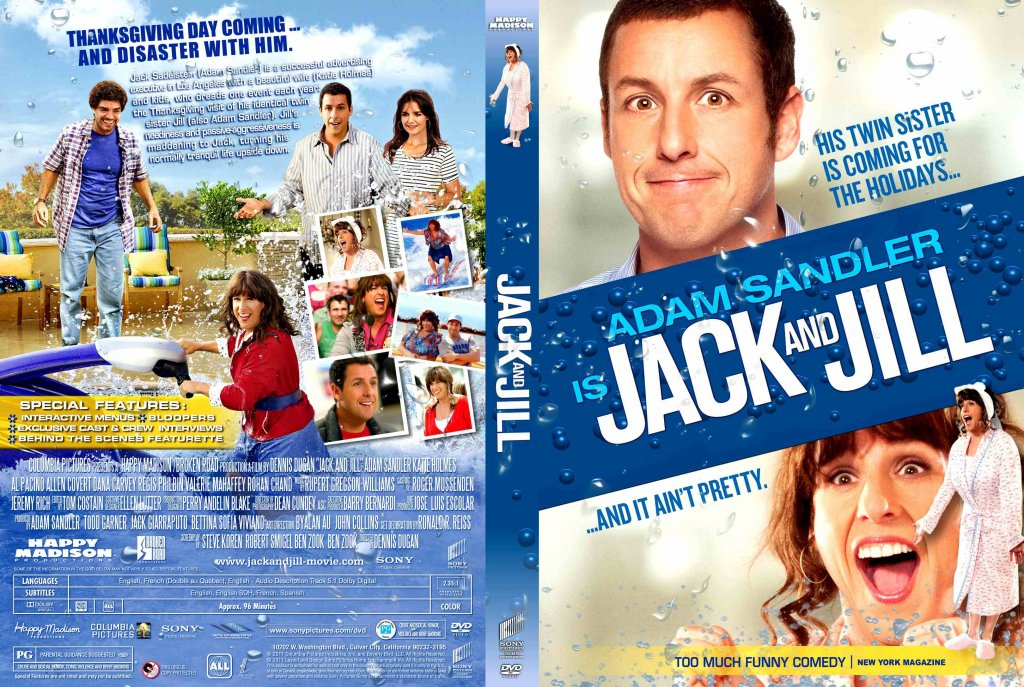 Jack And Jill Movie Dvd Custom Covers Jack And Jill