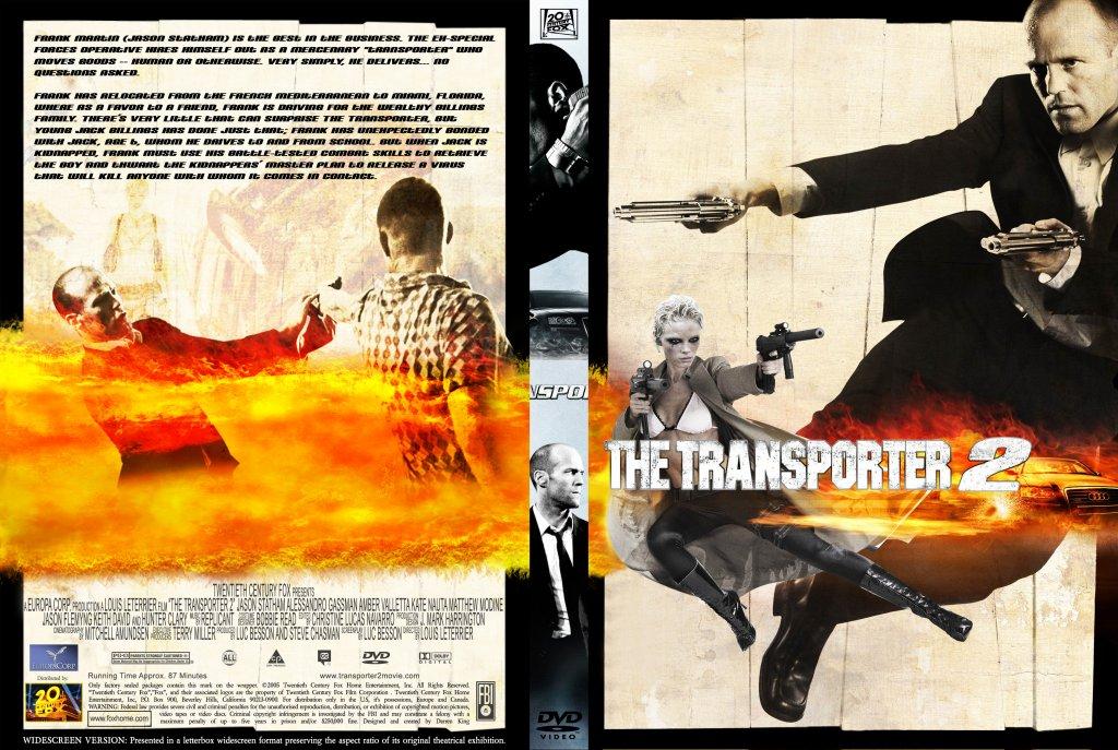 Transporter 2 - Movie DVD Custom Covers - 416Transporter 2 ... |Transporter 2 Dvd Cover
