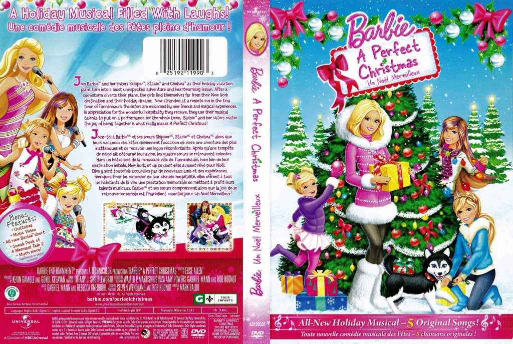 Barbie a perfect christmas barbie et un noel merveilleux - Barbie noel merveilleux ...