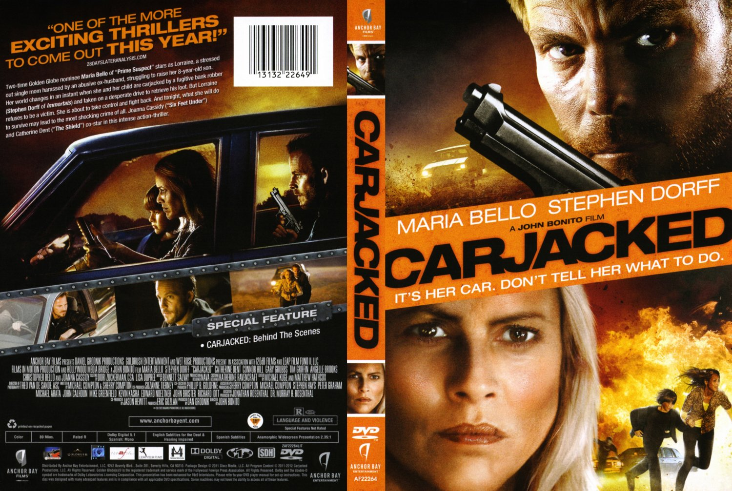 Carjacked - Movie DVD Scanned Covers - Carjacked :: DVD Covers