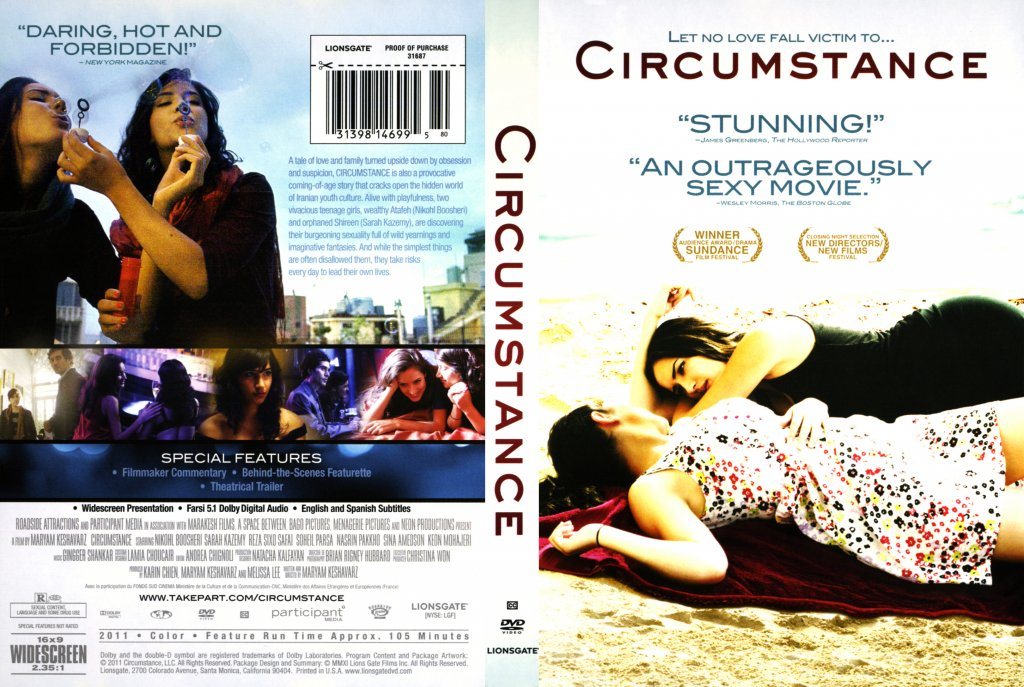 Circumstance - Movie DVD Scanned Covers - Circumstance ...