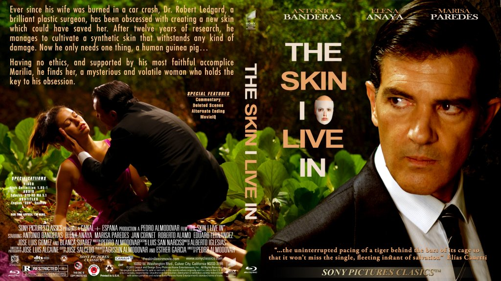 the skin i live in Pedro almodóvar's the skin i live in is a film whose glossy surface belies its  investment in history—cinema's history, spain's history,.