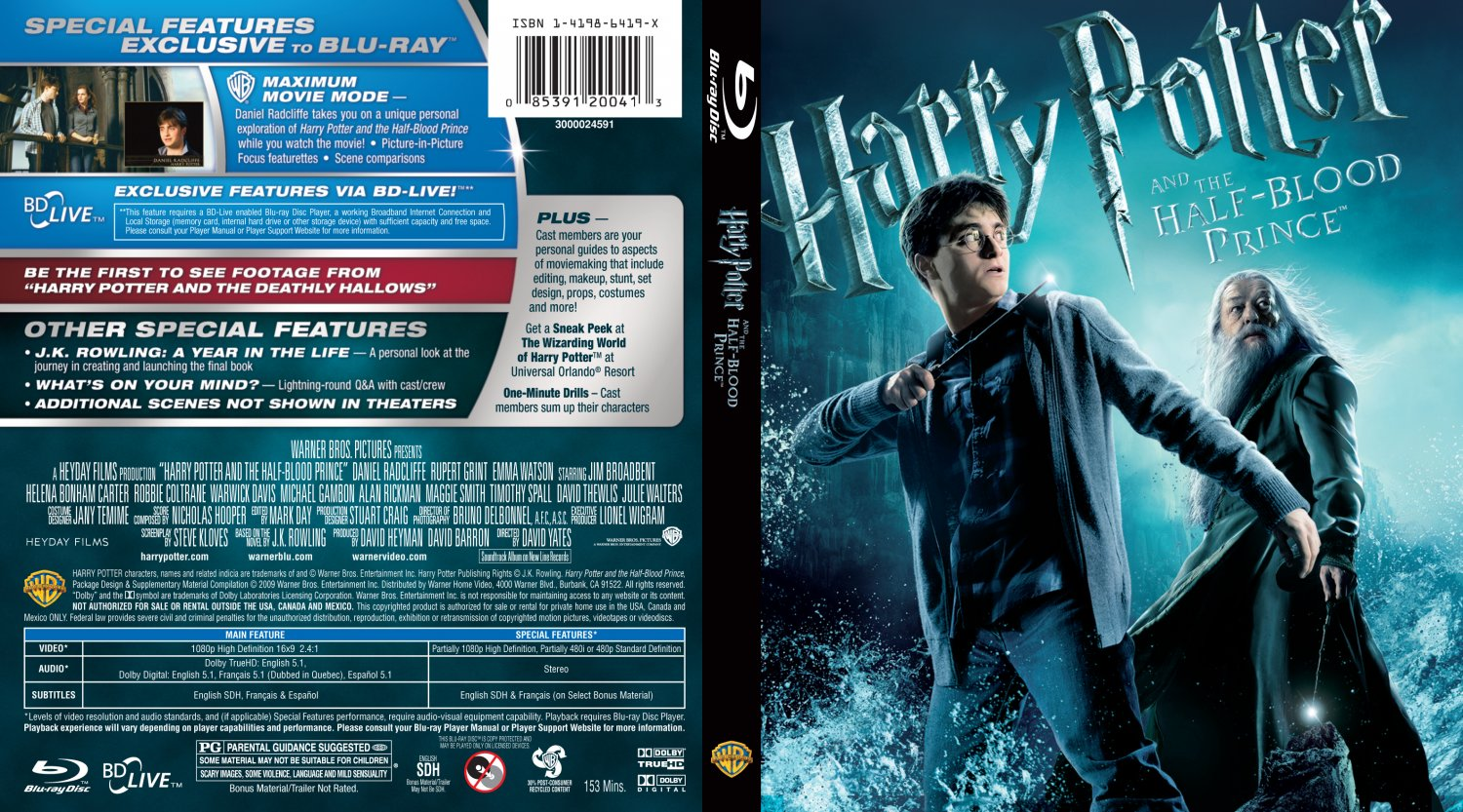 Harry Potter and the Half Blood Prince Movie 2009 Free