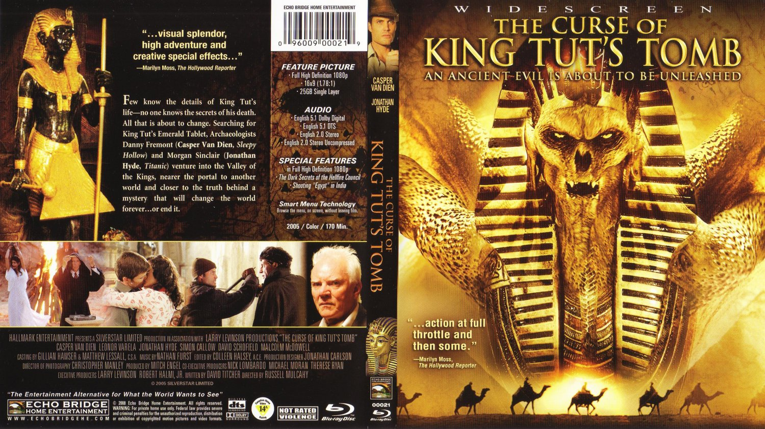 The Curse Of King Tut's Tomb (Widescreen DVD) Casper Van