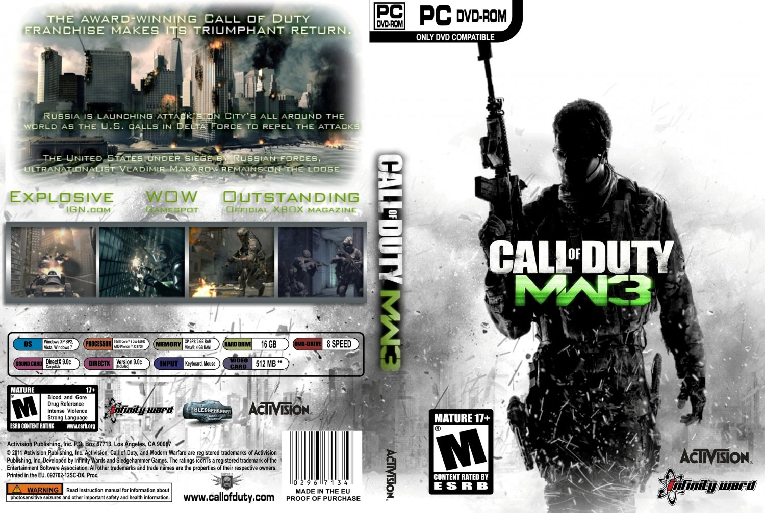 telecharger call of duty mw3 pc gratuit complet