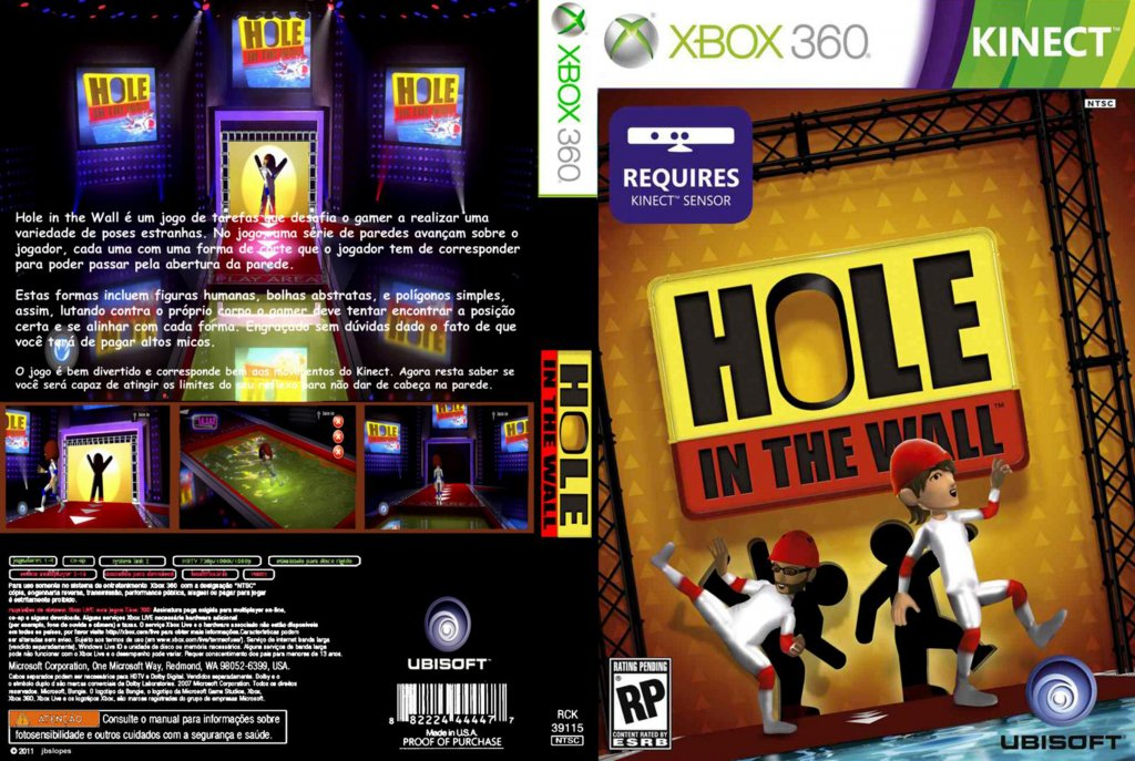 Hole in the Wall DVD NTSC Custom f