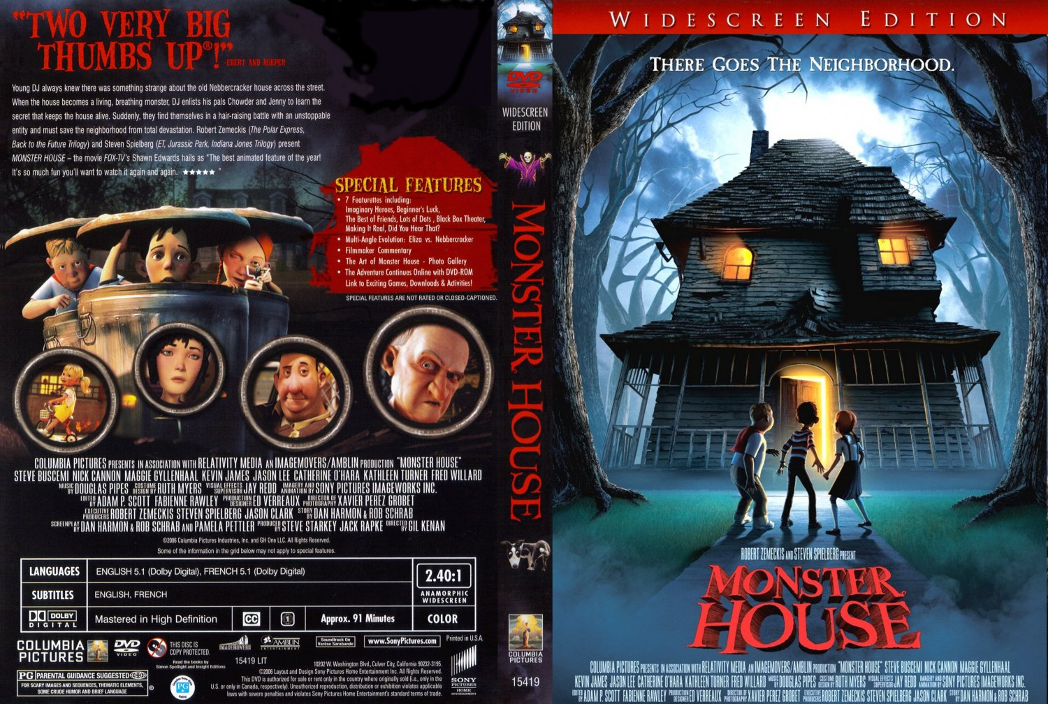 Monster House  (2006) (English) 320p
