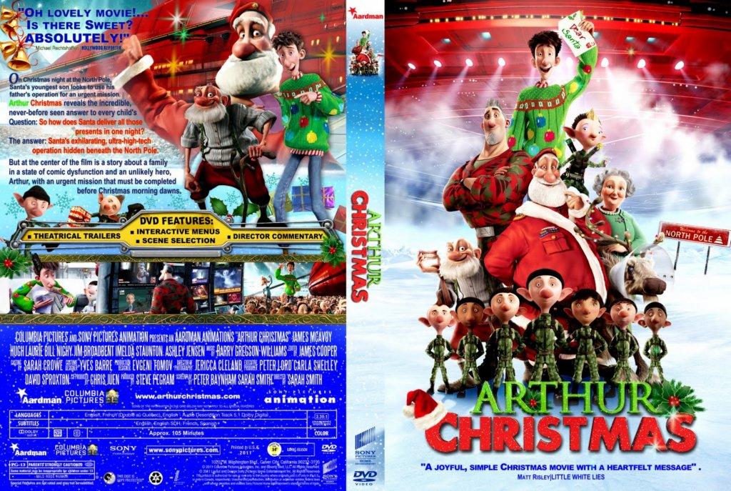 Arthur Christmas - Movie DVD Custom Covers - Arthur Christmas :: DVD ...