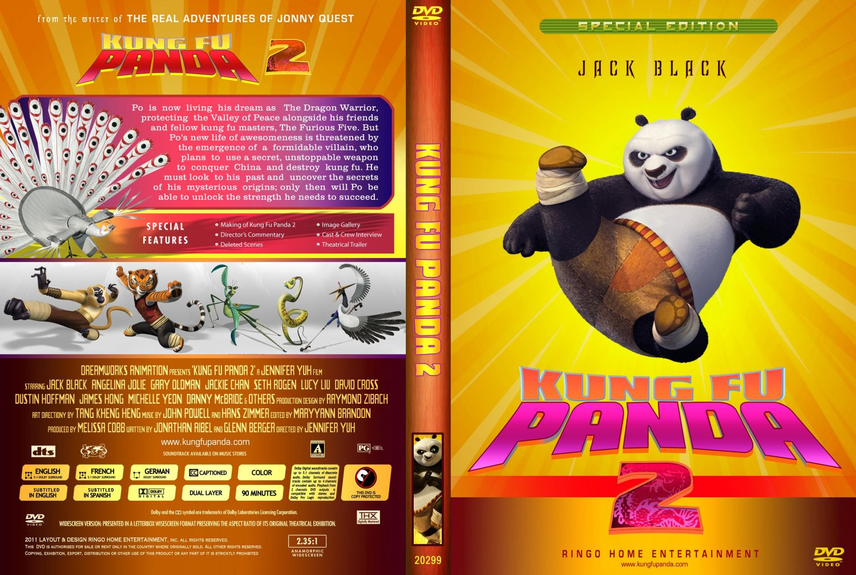 Kung Fu Panda 2 Dvd Cover Kung Fu Panda 2 - Movi...