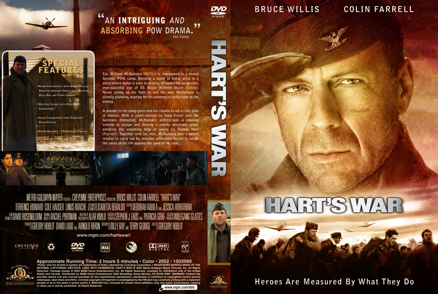 Hart's war - Movie DVD Custom Covers - Harts war :: DVD Covers