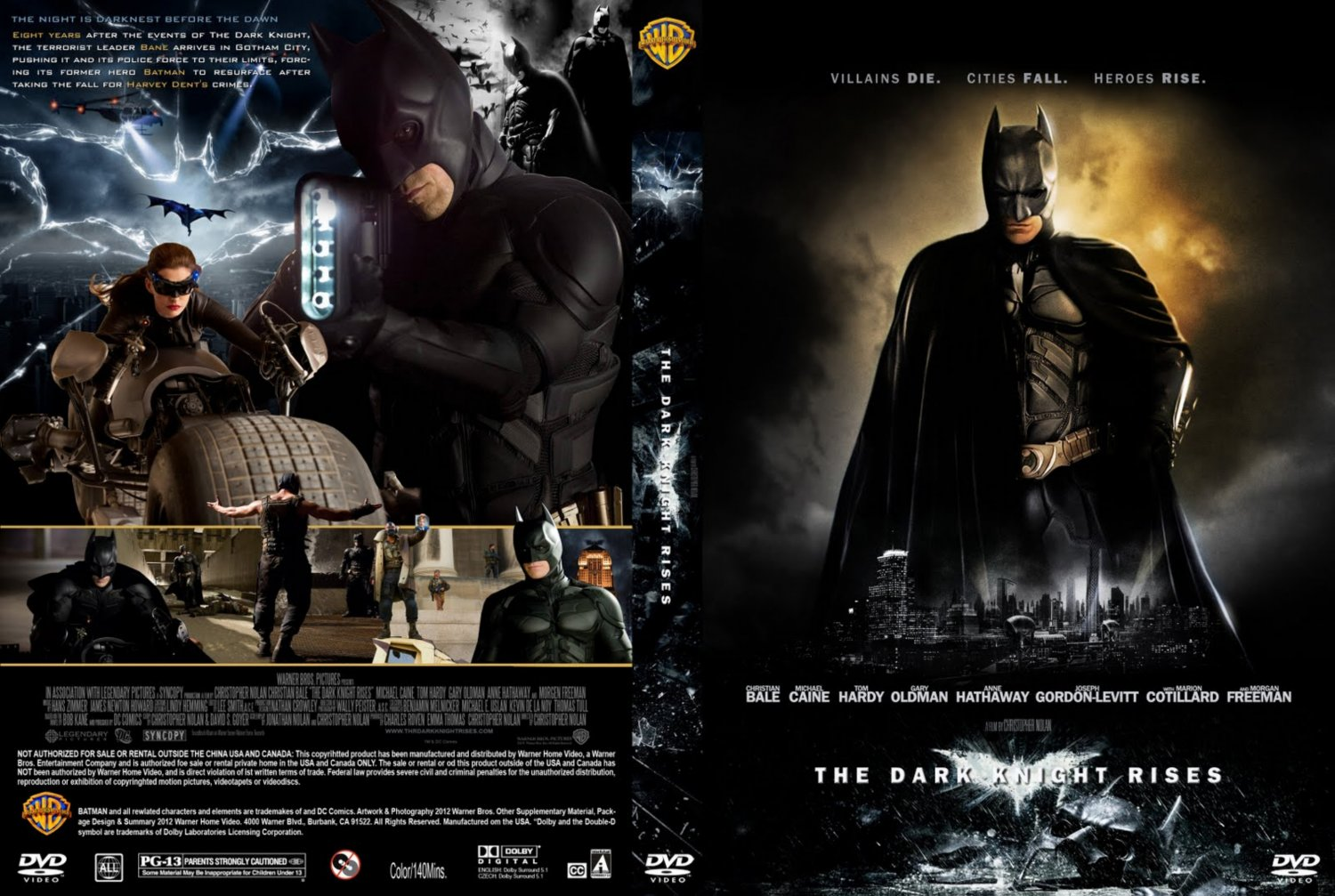 Dark Knight Rises Dvd Cover The Dark Knight Rises