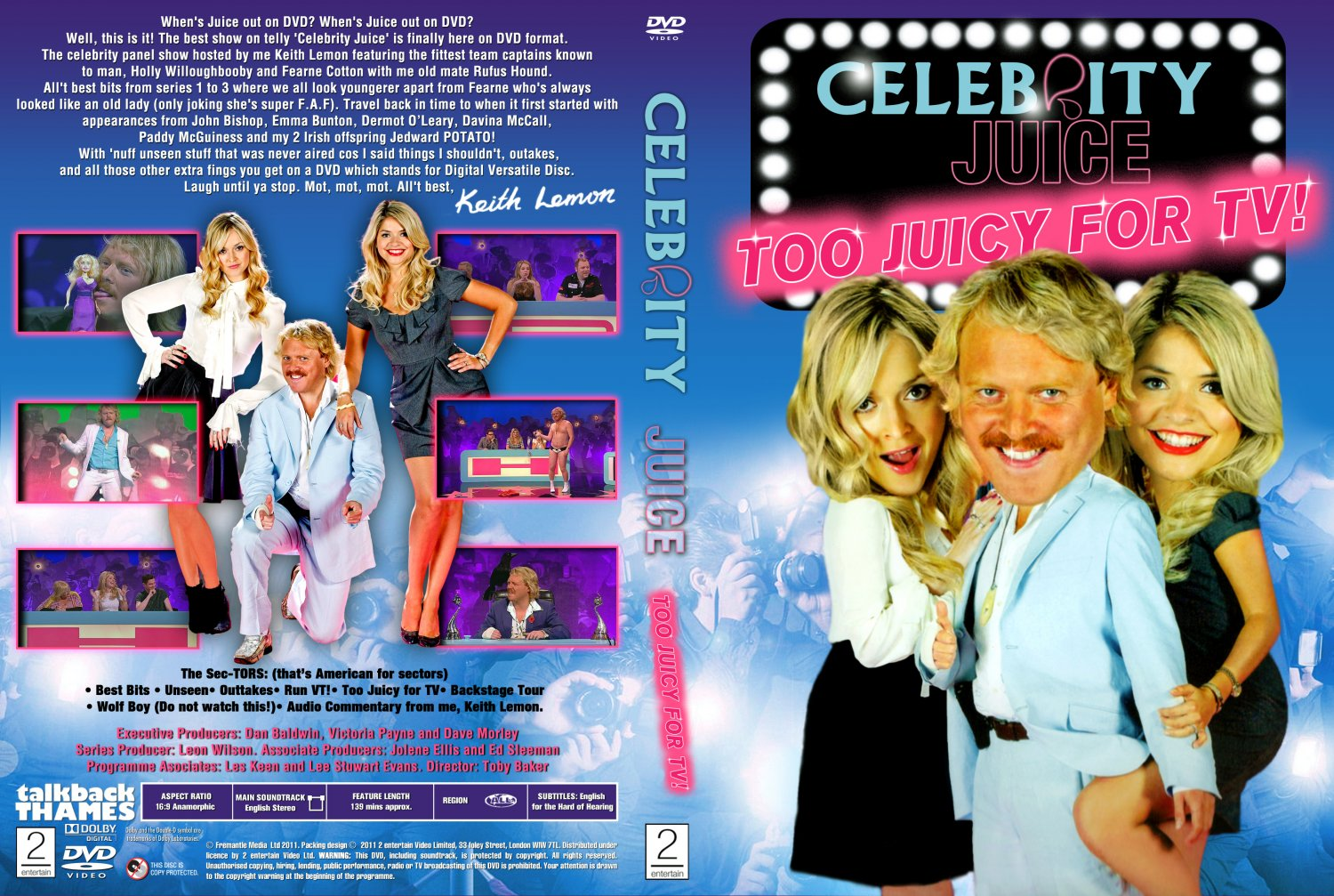 Celebrity Juice Dvds - CABBAGE JUICE RECIPE