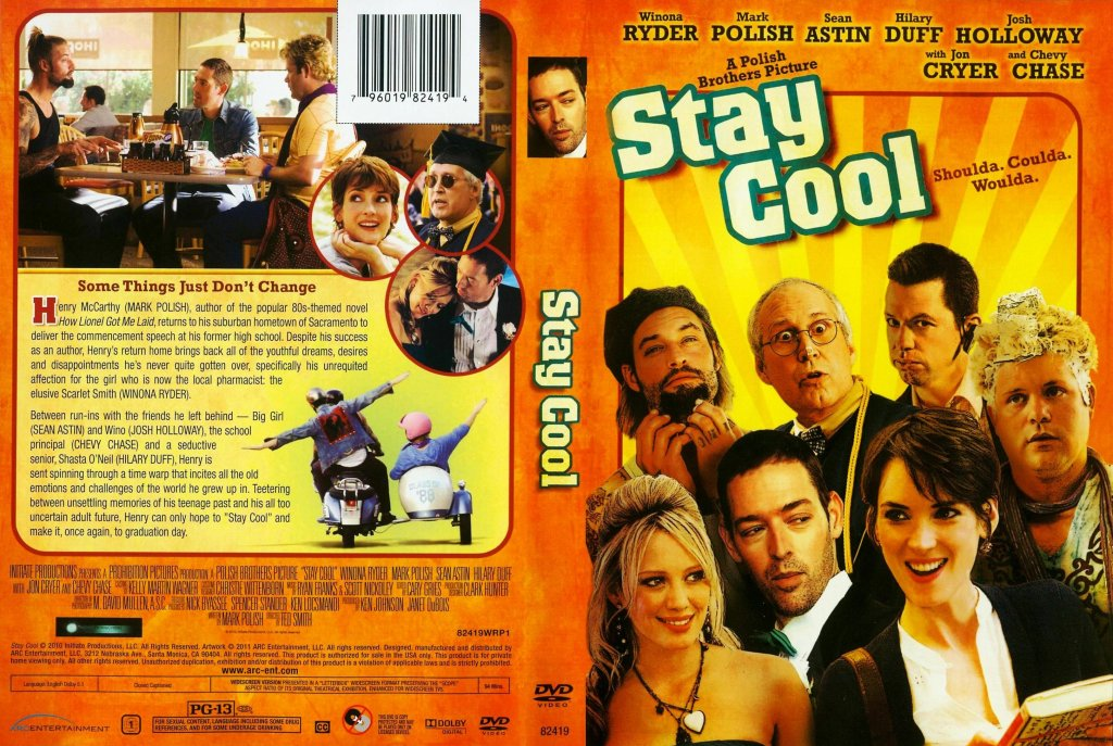 Stay Cool - Movie DVD Scanned Covers - Stay Cool :: DVD Covers