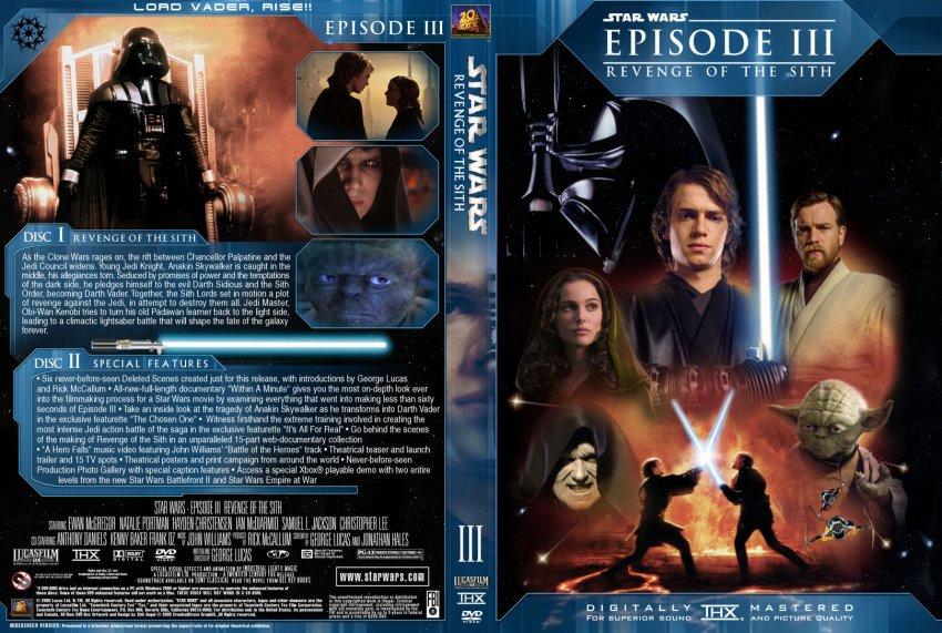 Star Wars Episode Iii Revenge Of The Sith Movie Dvd Custom Covers 24563 Revenge Of The Sith Sith Angel Custom Dvd Covers