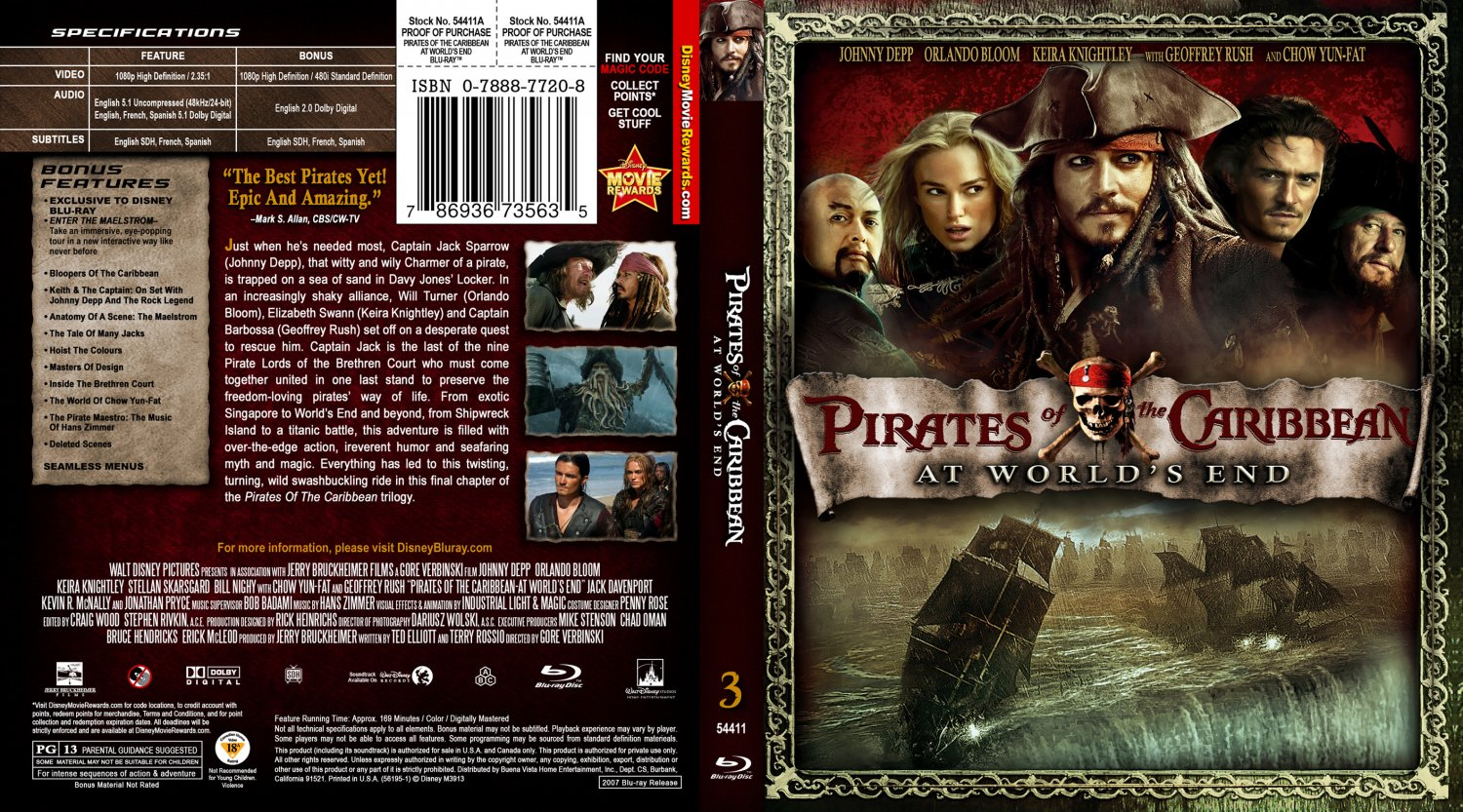 pirates of the caribbean at worlds end book report