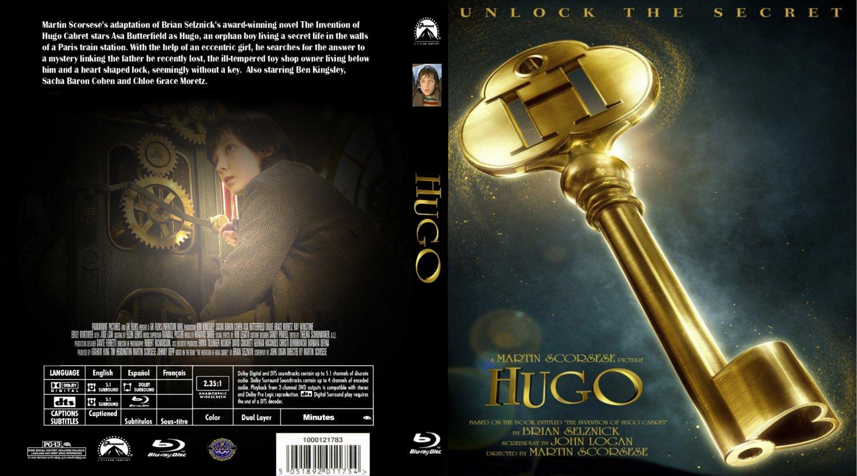 Hugo - Movie Blu-Ray Custom Covers - Hugo :: DVD Covers
