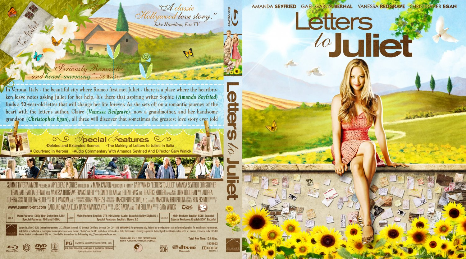 letters to juliet dvd cover Buy letters to juliet dvd, blu-ray online at lowest price in india at amazonin  free delivery on qualified orders check out letters to juliet reviews, ratings,.