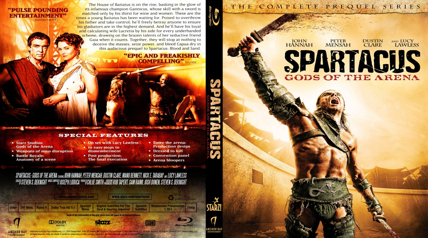 Spartacus Gods Of The Arena Cover - Hot Girls Wallpaper