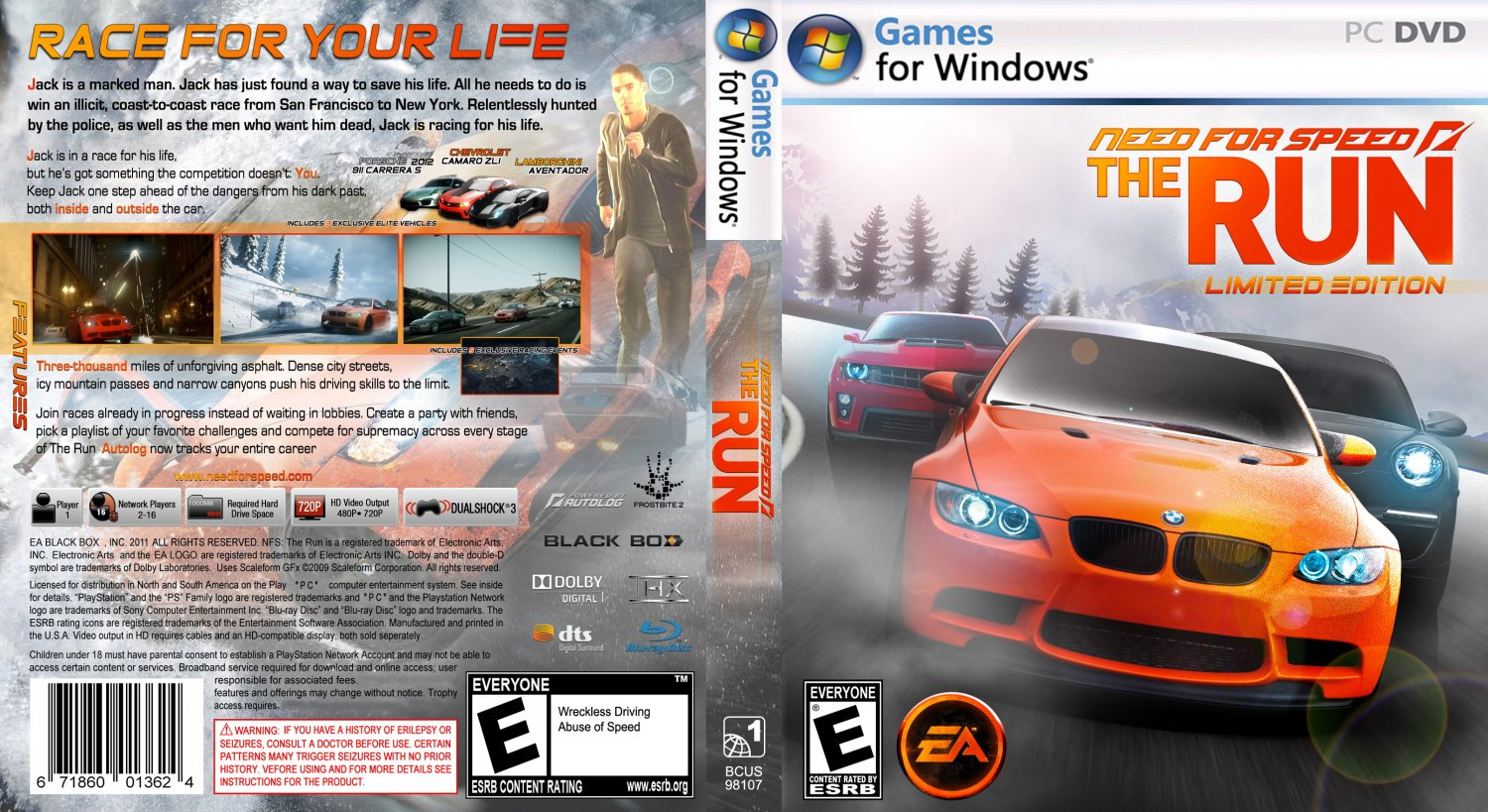 Need For Speed The Run pc Speed The Run pc Need Speed