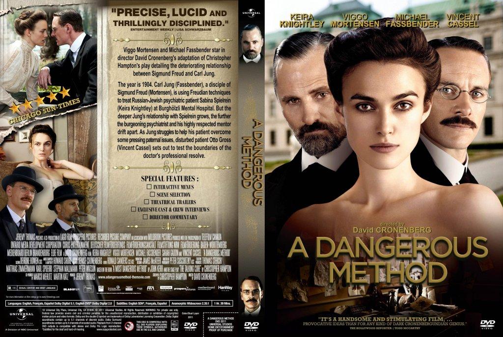 A dangerous me  A Dangerous Method Poster