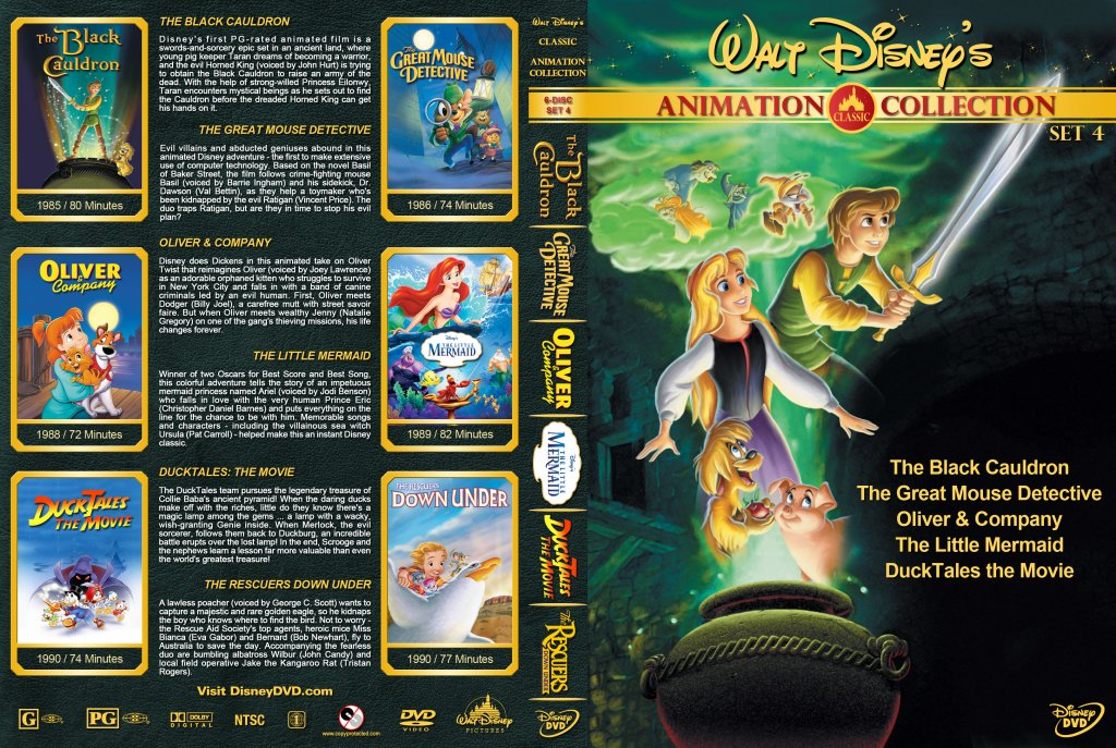 Walt Disney's Classic Animation Collection - Set 4