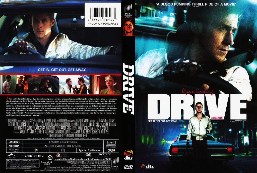 drive movie dvd scanned covers drive1 dvd covers
