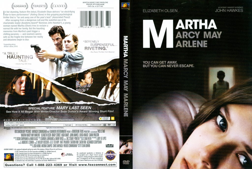 Martha Marcy May Marlene DVD-Cover
